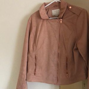 Light pink jacket only worn 3 times